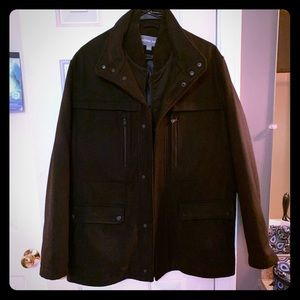 Men's wool winter jacket